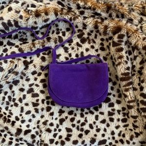Urban Outfitters Suede Cross Body Bag *NWOT*